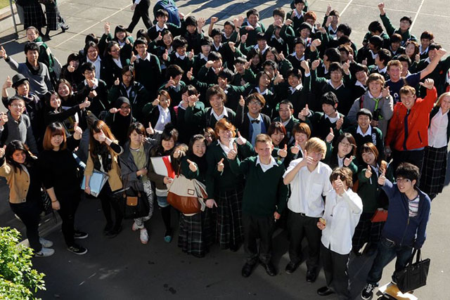 Burnside_high_school バーンサイド ハイスクール