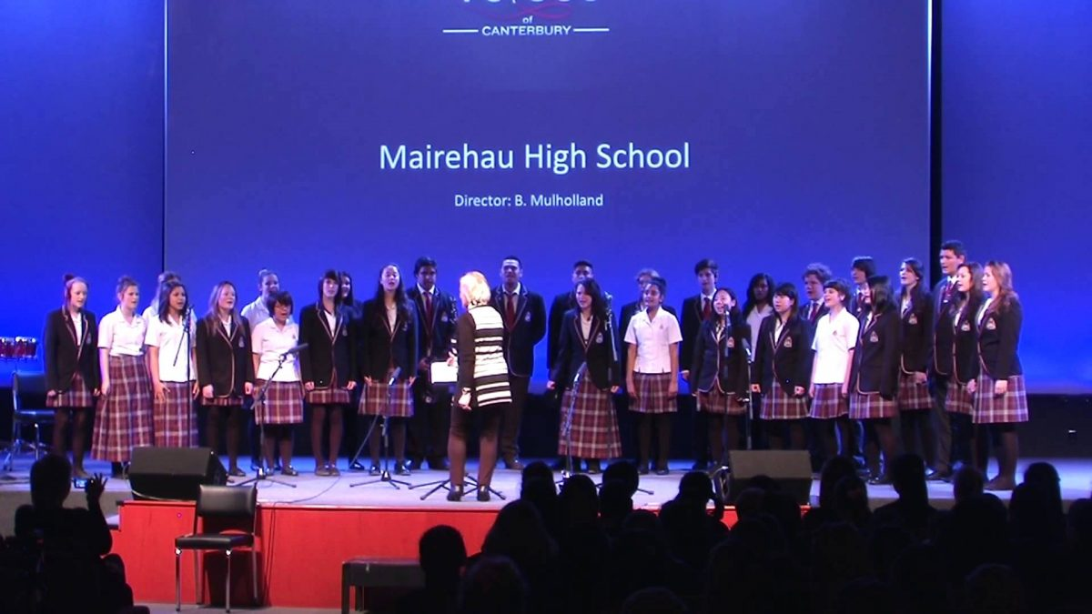 Mairehau High School (マイレハウ ハイスクール)
