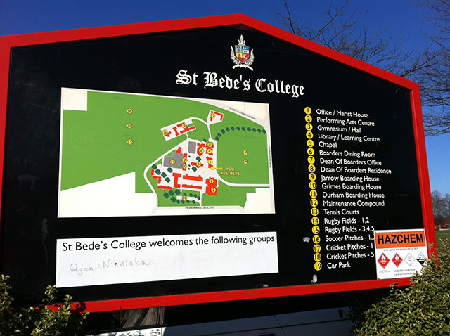 St Bede's College(セント ビーズ カレッジ)