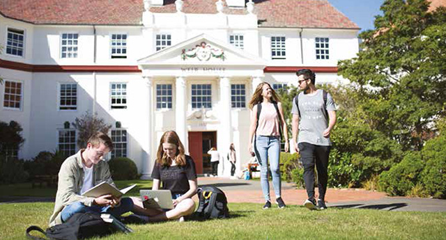 VICTORIA UNIVERSITY OF WELLINGTON ヴィクトリア大学 学生寮
