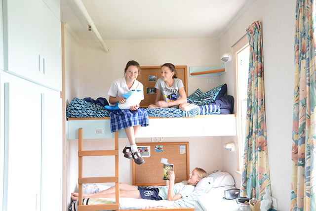 学生寮 ボーディングスクールのあるニュージーランドの高校イメージ