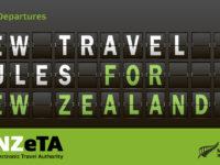 観光渡航の方、2019年10月1日以降 電子渡航認証(NZeTA)が必要になります。
