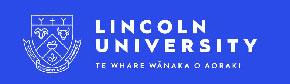 リンカーン大学 Lincoln University NZ